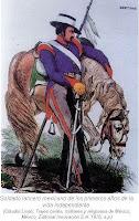 Imagen soldado lancero mexicano