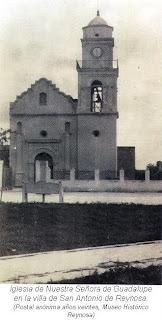 Postal Iglesia de Guadalupe Reynosa