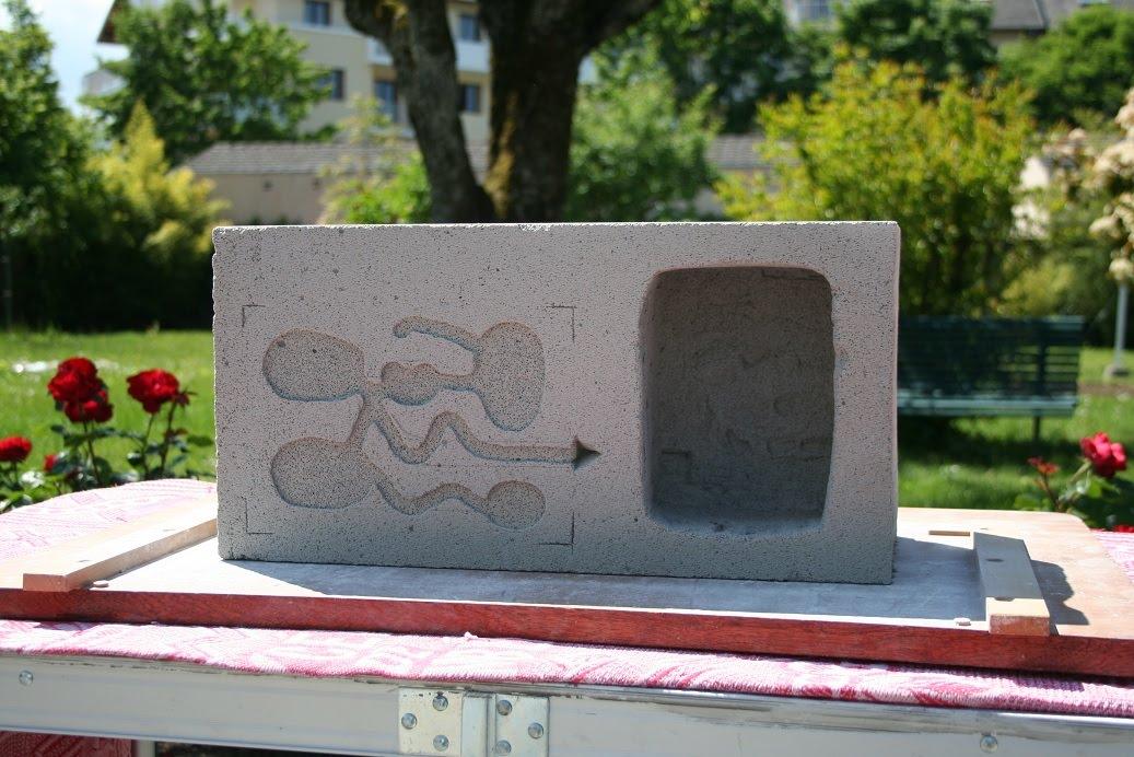 Bocallobroge comme une fourmi en savoie la fabrication - Plaque de beton cellulaire ...
