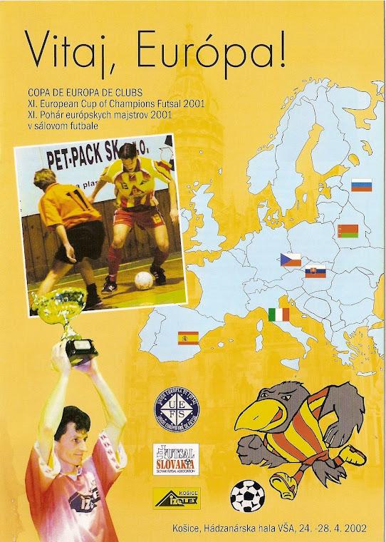 XI Copa de campeones de Europa 2001