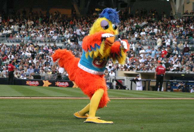 Terrace Reserved Whatever Happened To The San Diego Chicken