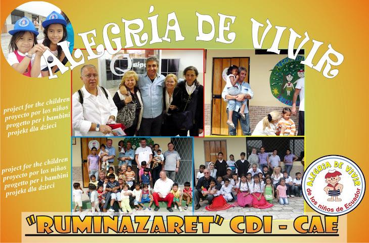 ALEGRIA DE VIVIR EN ECUADOR
