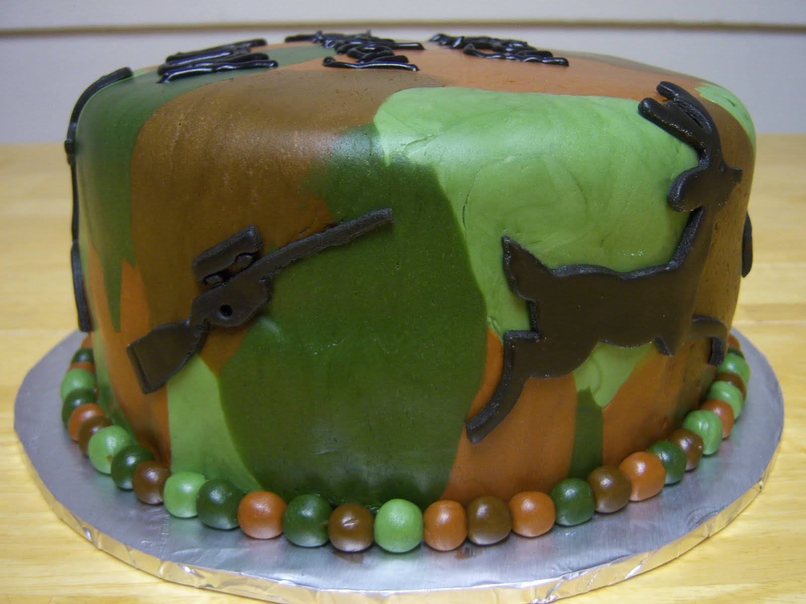 Creative Cakes By Angela Camouflage Hunting Cake
