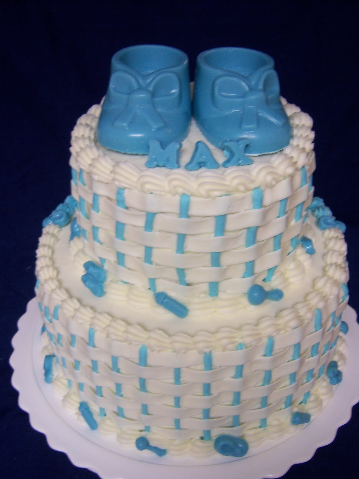 Baby Shower Cakes Utah ~ Creative cakes by angela baby boy