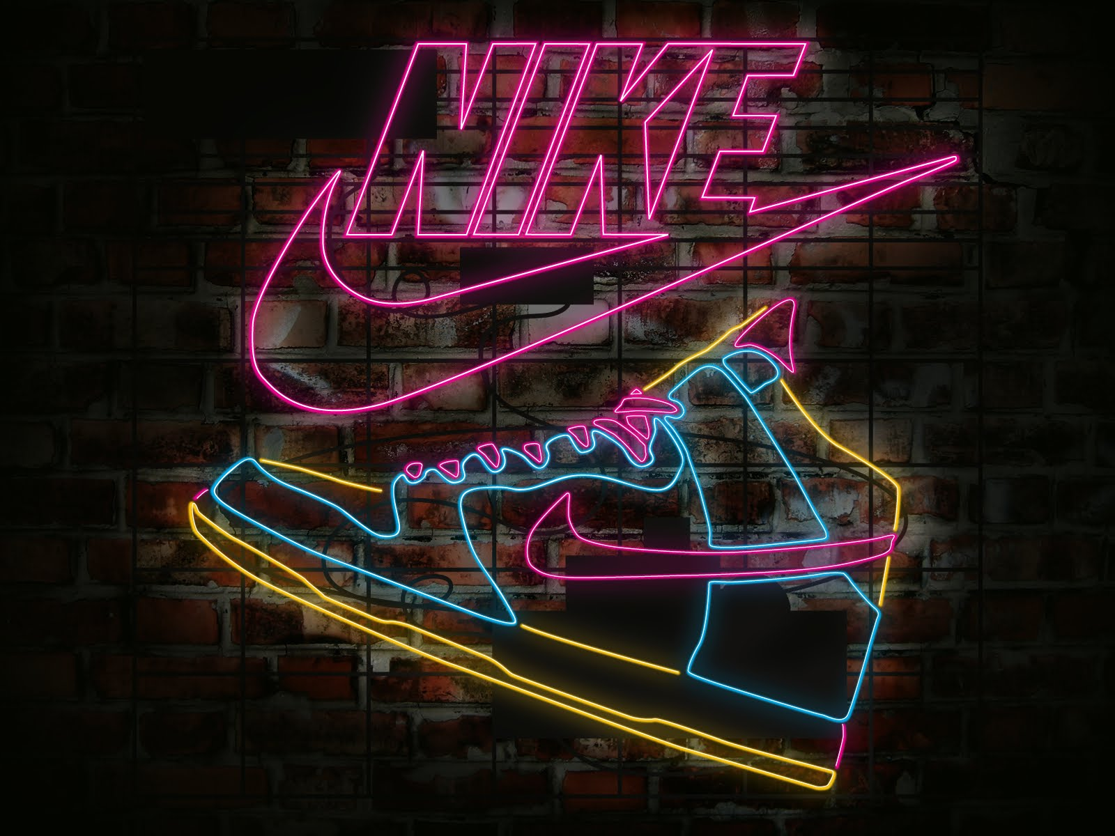 nike sign pictures