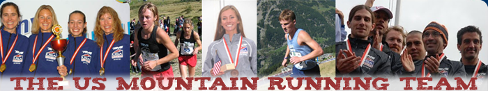 The U.S. Mountain Running Team