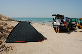 That's our tent