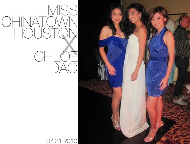 Crafty Liang CHLOE DAO X MISS CHINATOWN HOUSTON