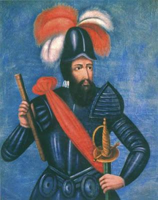 Dibujo de Francisco Pizarro