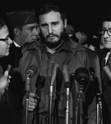 Fidel Castro mas joven
