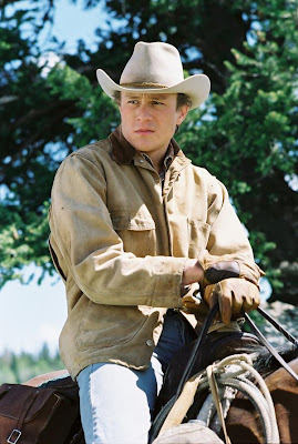 Heath Ledger a caballo
