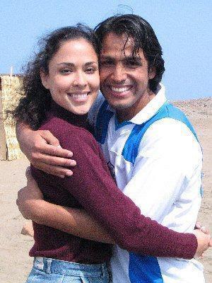 Adriana Quevedo junto a Gerardo Zamora