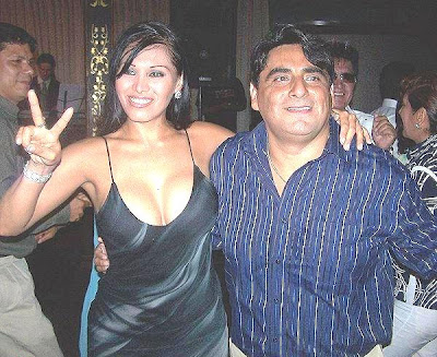 Gladys Trocones con Carlos Alvarez