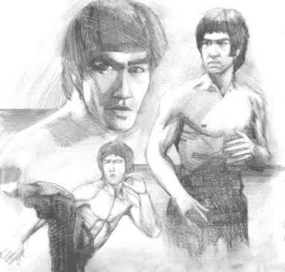 Bruce+Lee+dibujo FOTOS DE BRUCE LEE