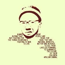 Amílcar Cabral - No digas mentiras, no clames victorias fáciles (Tell no lies, claim no easy victories) 1965 Images