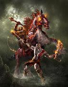 GOD OF WAR. Kratos é um guerreiro à serviço dos deuses Gregos do Olimpo.