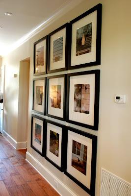 frame photograph arrangement ideas the polkadot chair. Black Bedroom Furniture Sets. Home Design Ideas