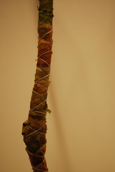 Viklet gren med blade