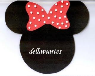Imagem+189 Convite da Minnie para crianças