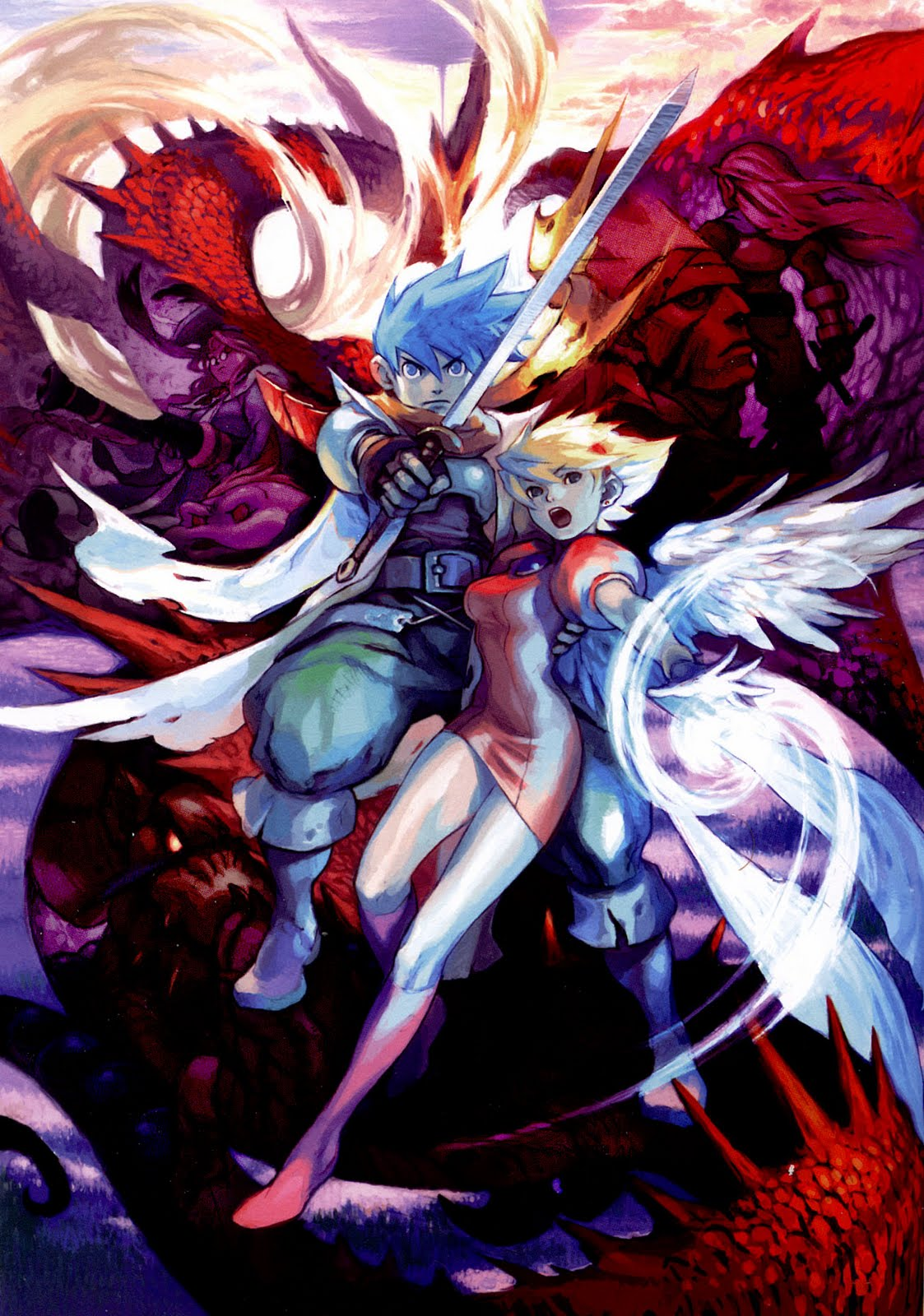 Breath of Fire HD & Widescreen Wallpaper 0.344016615614905