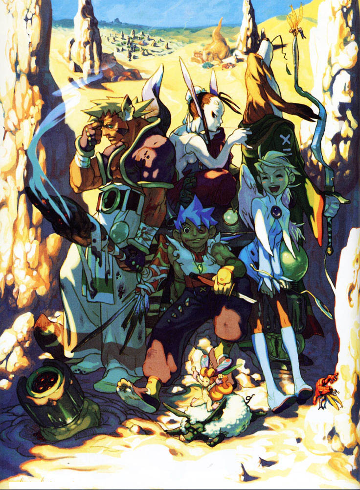 Breath of Fire HD & Widescreen Wallpaper 0.648754798045617