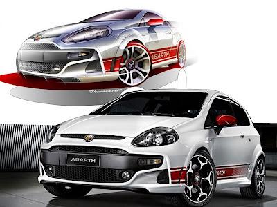 New Cars Desings Sport 2011 Fiat Sports Car Punto Evo Abarth 14
