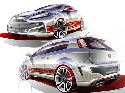 Sport Car Fiat Punto Evo Abarth 2011 Cars Club
