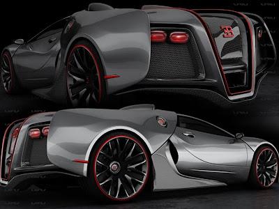 Bugatti Renaissance Design Concept Car by John Mark ... Bugatti Renaissance Concept