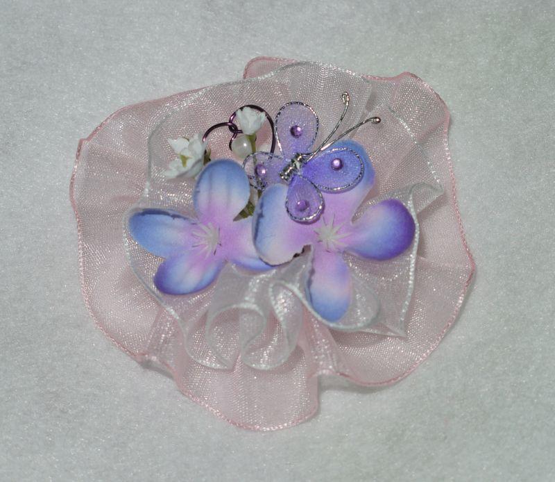 purple blue silver wedding