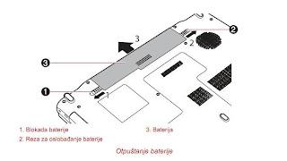 PA3817U-1BRS baterija laptopa