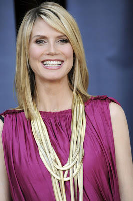 Heidi Klum Layered Gold Necklace