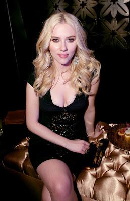 Scarlett Johansson Sterling Chandelier Earrings
