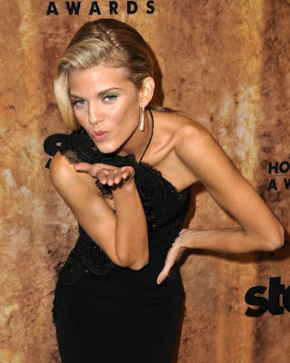 AnnaLynne McCord Dangling Diamond Earrings