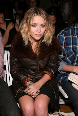 Mary-Kate Olsen Silver Ring