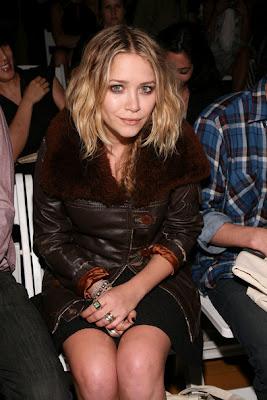 Mary-Kate Olsen Silver Ring