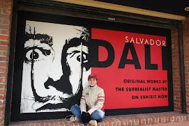 Con Salvador Dalí