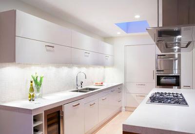 A tu salud magazine c mo decorar una cocina peque a - Como amueblar una cocina pequena ...