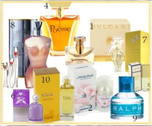 lista de perfumes originales: