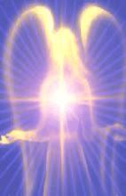 Anjo Azul dourado