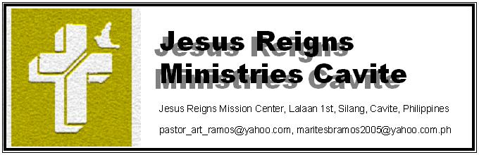 Jesus Reigns Ministries Cavite