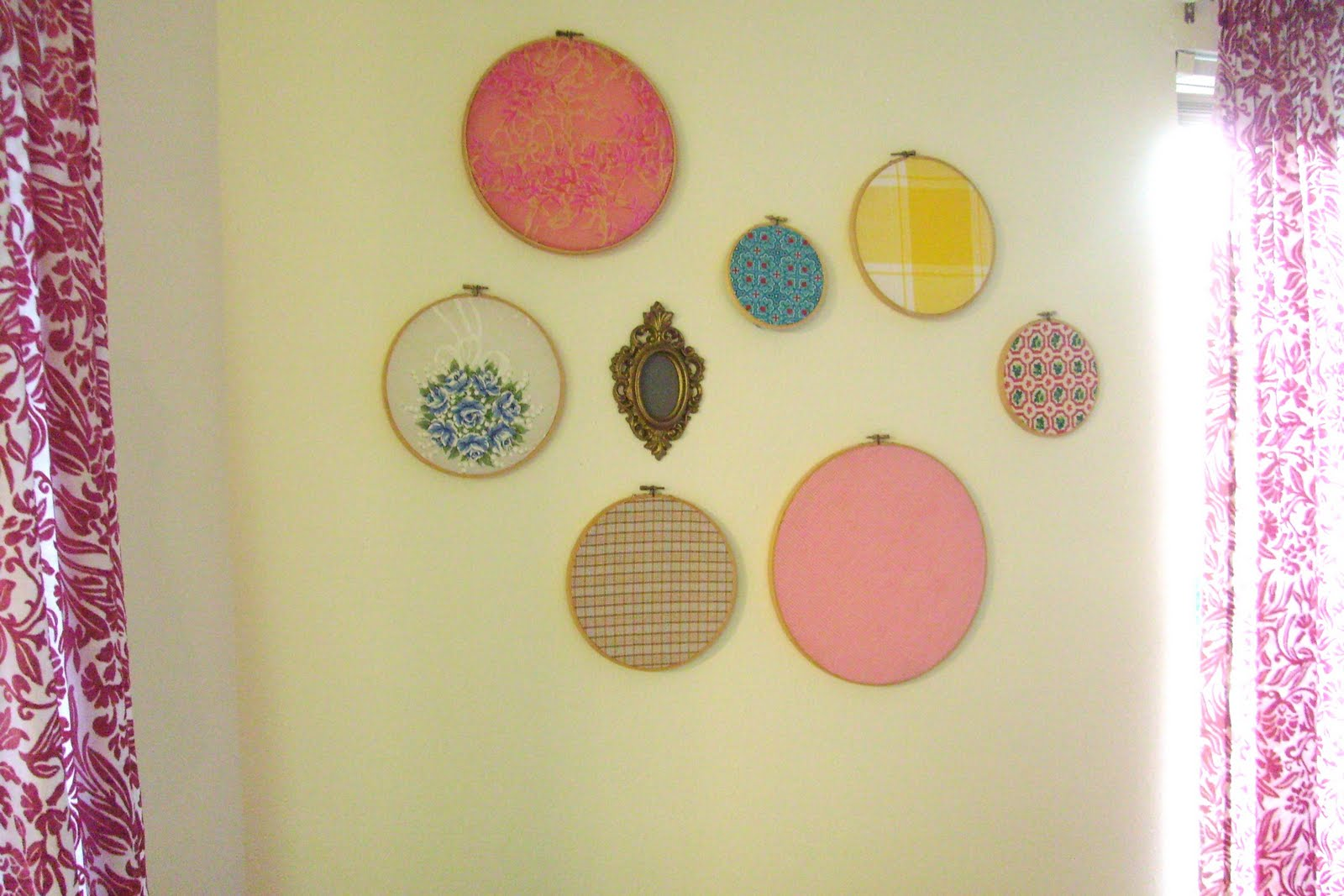 Simple, springy DIY wall decor / Create / Enjoy
