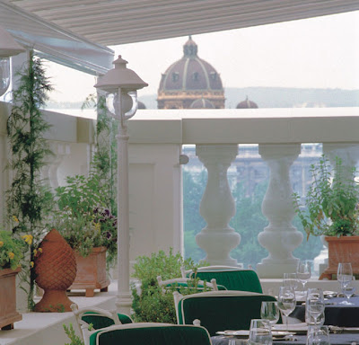 Grand Hotel Wien Vienna Terrace to Delight a Ringcake