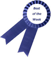 Best of the Week and Winner of The Kitchen Fork Giveaway!