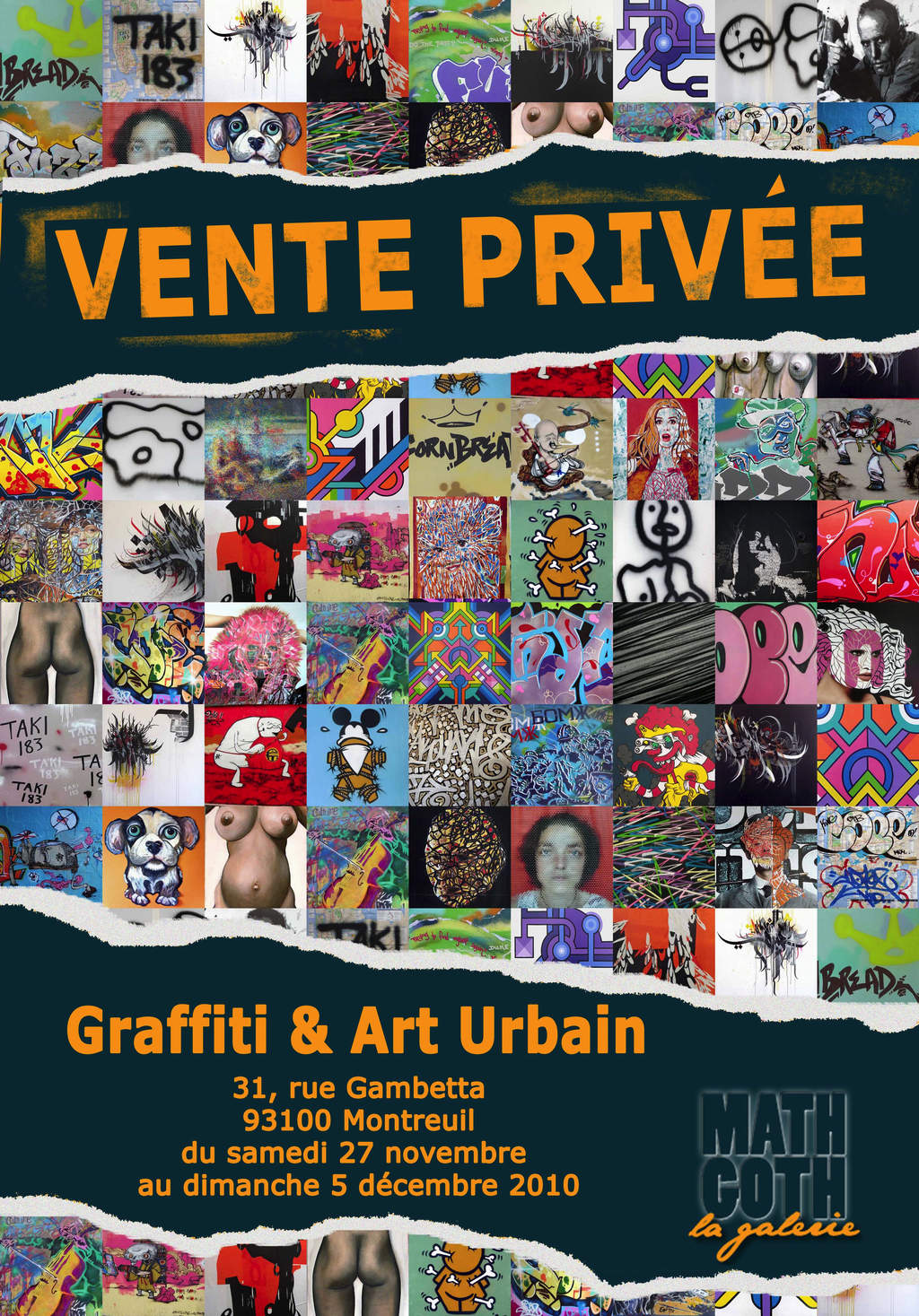art crimes graffiti news and events france montreuil nov 27 dec 5 2010 vente privee. Black Bedroom Furniture Sets. Home Design Ideas