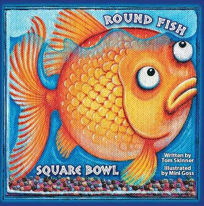 The book chook book review round fish square bowl for Book with fish bowl on cover