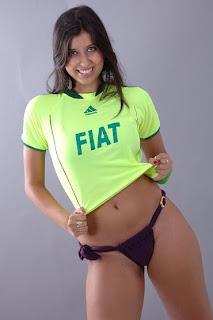 Musa do Palmeiras Raphaella 8
