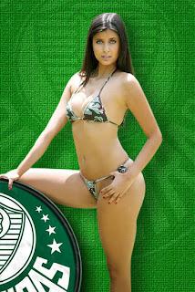 Musa do Palmeiras Raphaella 6