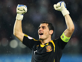 Iker Casillas o melhor goleiro da Copa 2010