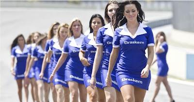 Fotos Grid Girls - GP Brasil