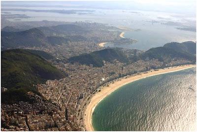 Cartões Postais do Rio de Janeiro  - Praia Copacabana
